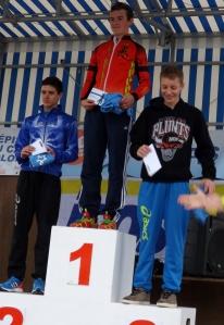 Thomas sur podium